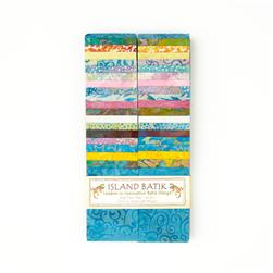 "Island Batik 2.5"" Strip Pack Nectar"