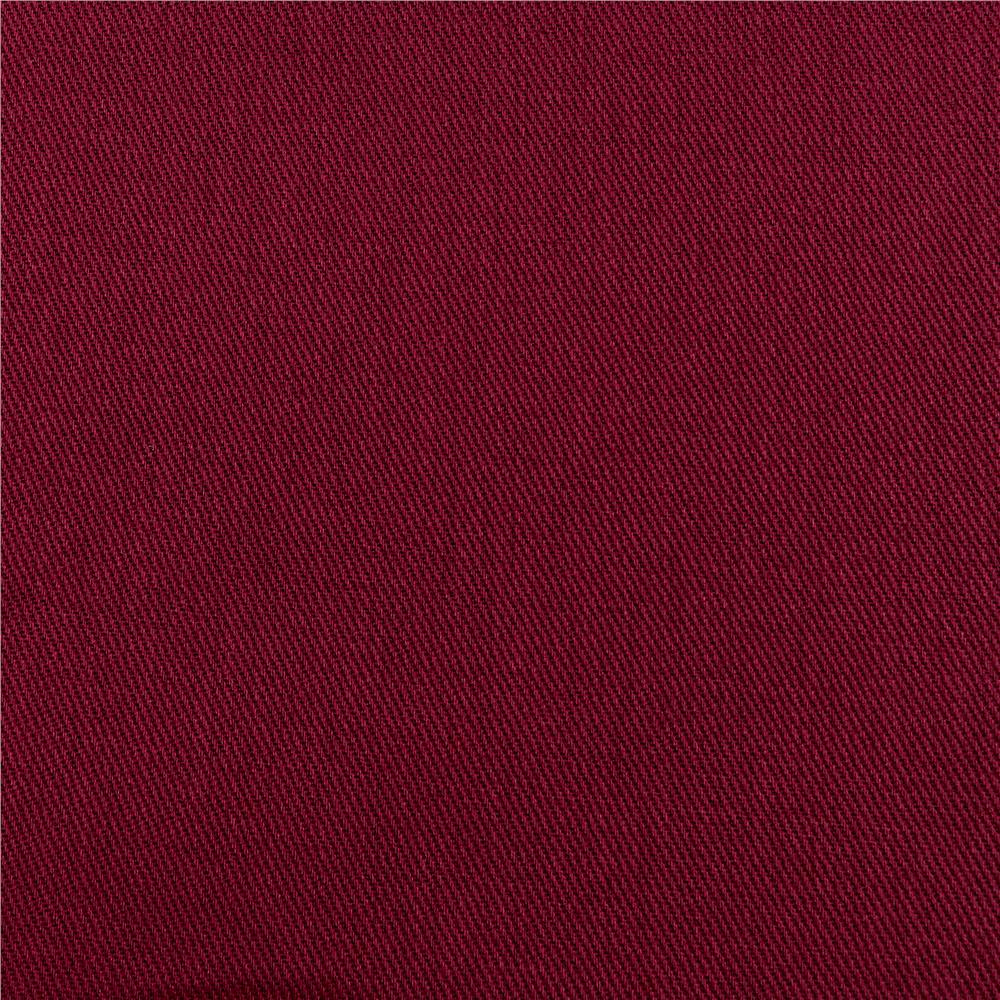 9 oz. Brushed Bull Denim Burgundy Fabric By The Yard