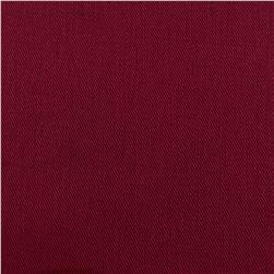 9 oz. Brushed Bull Denim Burgundy Fabric