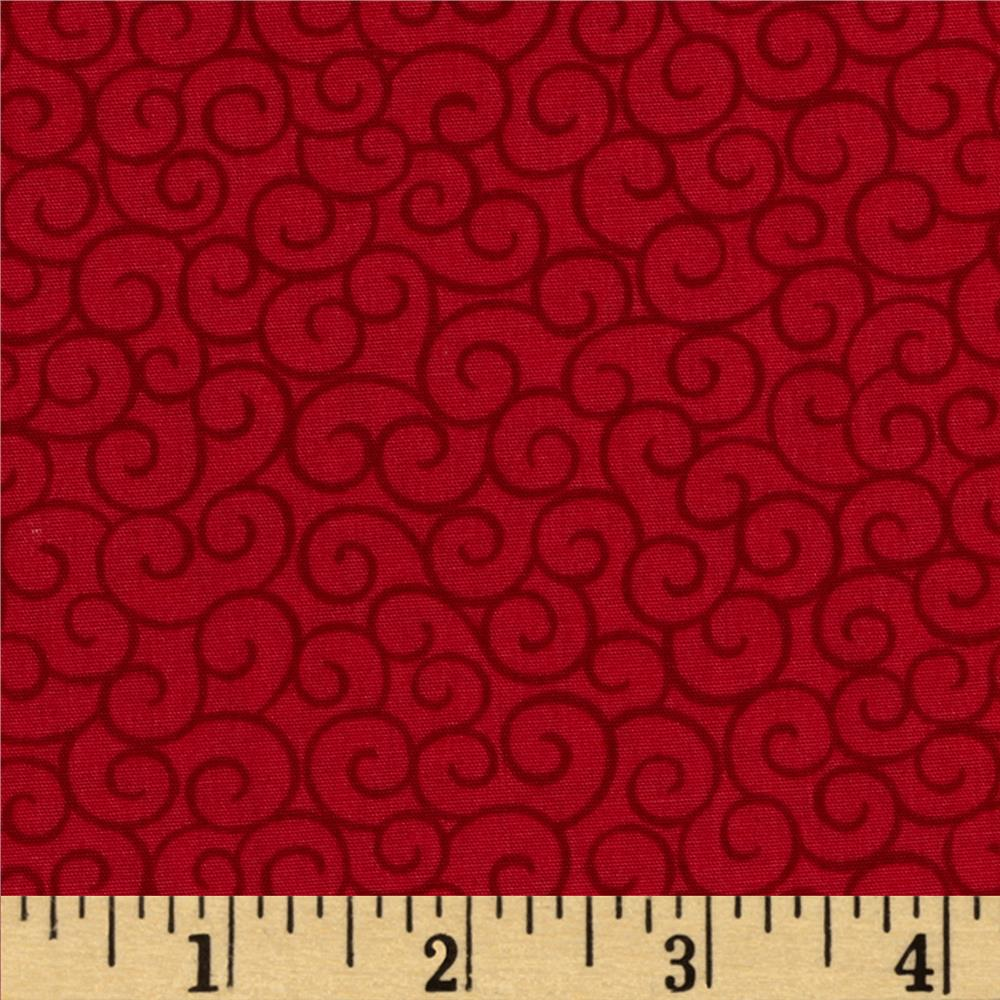 Moda Ho! Ho! Ho! 108 In. Quilt Back Santa Suit Red