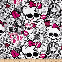 Monster High Perfectly Imperfect Pink/Black/White