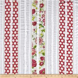 Vintage Cuts Patchwork Lawn Pink/White