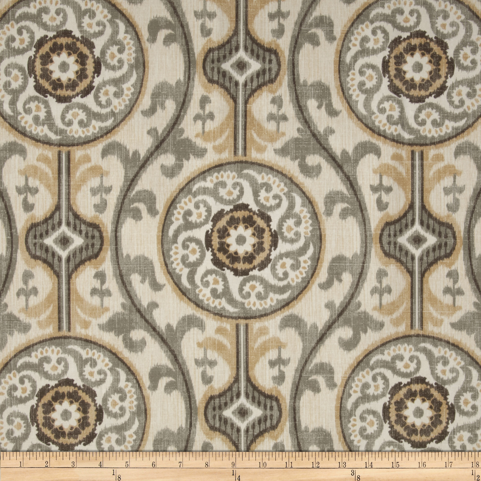Magnolia Home Fashions Oh Suzanni Metal Fabric