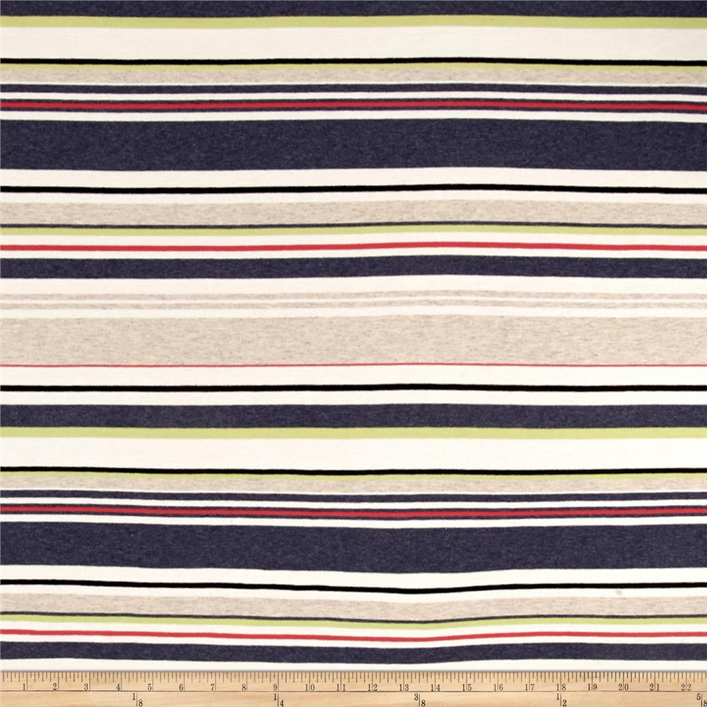 Jersey Knit Stripes Multi