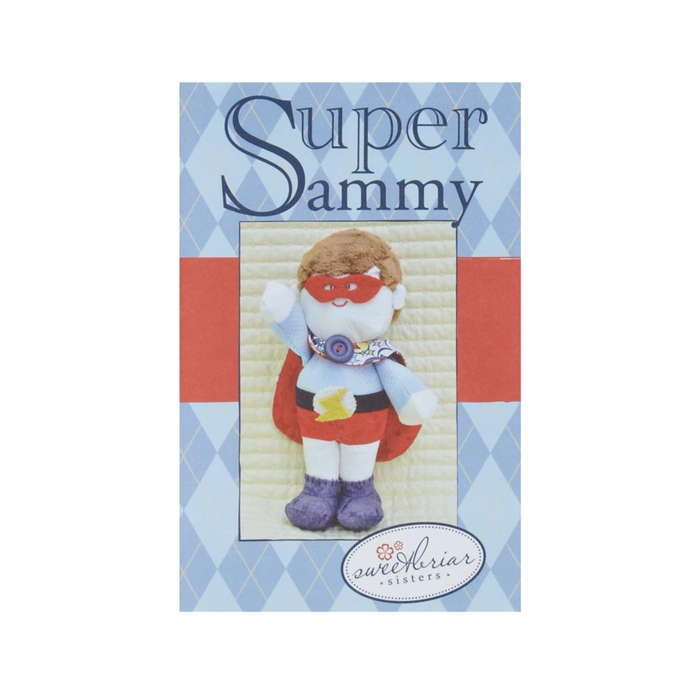 Sweetbriar Sisters Super Sammy Stuffed Animal Pattern