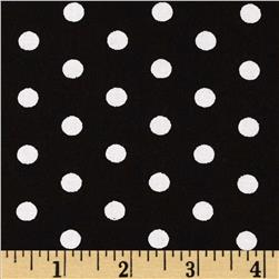 Forever Small Polka Dot Black