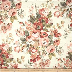 Robert Allen @ Home Medley Blooms Slub Blush