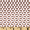 Michael Miller Nature Babies Flannel Lil Buds Brown