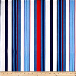 Michael Miller Yacht Club Starboard Stripe Sailor