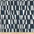 Premier Prints Sticks Slub Premier Navy