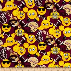 Collegiate Cotton Florida State University Emojis