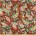 Riley Blake Home Decor Sweet Floral Brown