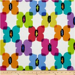 Paintbox Shadows Butterflies Multi Fabric