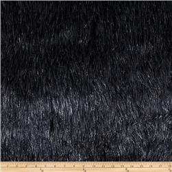 Faux Fur Electric Shag Charcoal