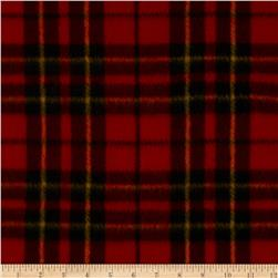 Fleece Prints Miles Plaid Red
