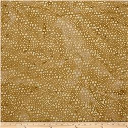 Indian Batik Hollow Ridge Dots  Tan/Natural