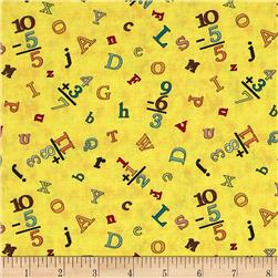 Sunshine Zoo Letter Toss Yellow