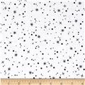 Fun with Frosty Stars & Dots White/Black