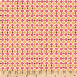 Riley Blake Cozy Christmas Square Pink