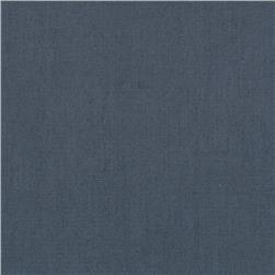 Indah Handpainted Solid Dusty Blue