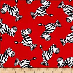 ABC-123 Tossed Zebra Red