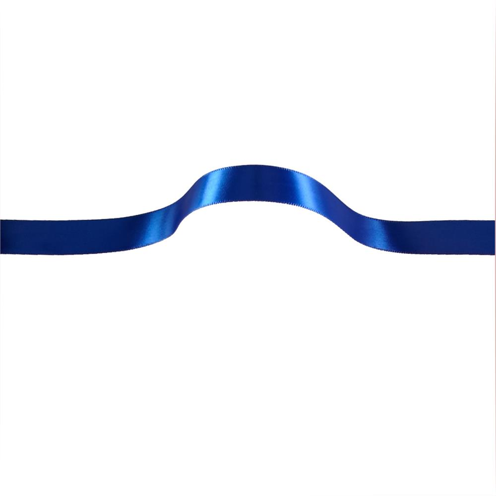 5/8'' Offray Single Face Satin Ribbon Royal Blue