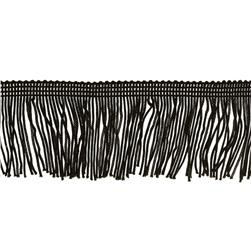 Expo 2'' Chainette Fringe Black