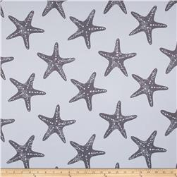 RCA Blackout Drapery Fabric Starfish Grey