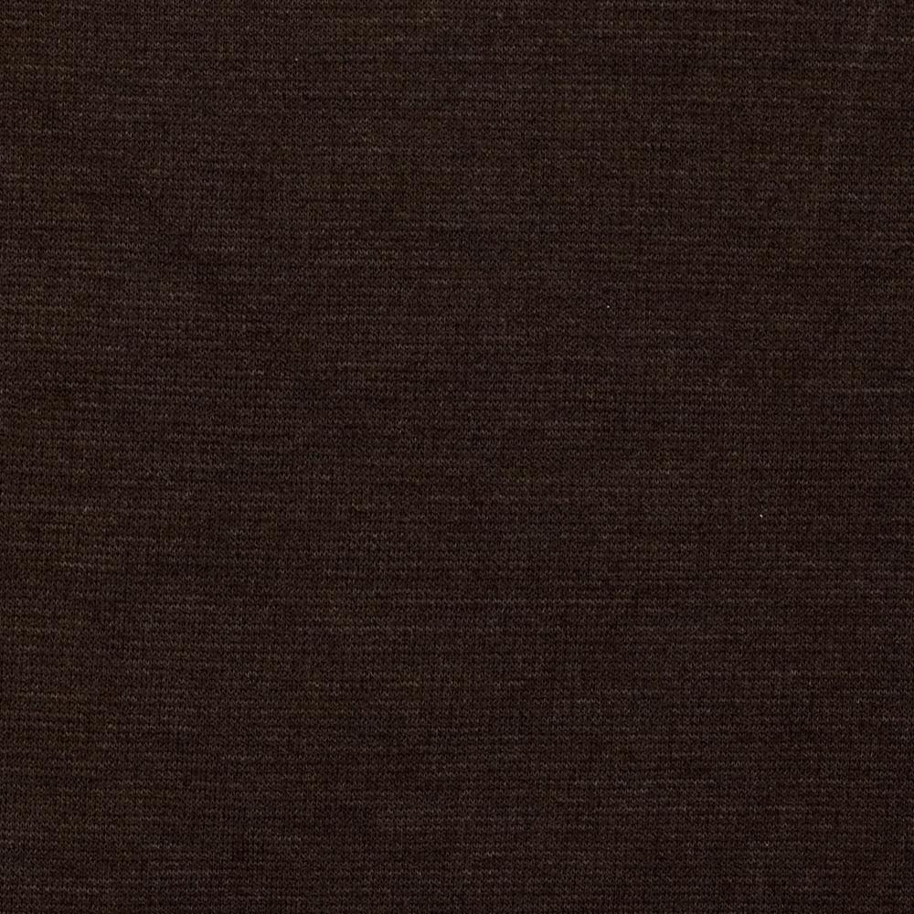 Ponte De Roma Knit Dark Brown Discount Designer Fabric