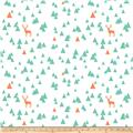 Bolt By Girl Charlee Desert Sky Jersey Knit Triangle Stag Mint/Orange
