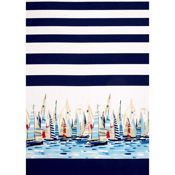 Michael Miller Regatta Single Border Marine