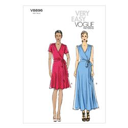 Vogue Misses' Dress Pattern V8896 Size B50