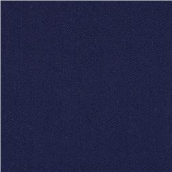 Kaufman Axiom Stretch Microfiber Twill Midnight Fabric