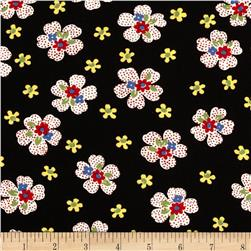 Moda Ducks in a Row Dotty Daisy Licorice