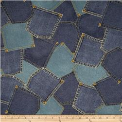 Limited Edition Denim Pockets Multi
