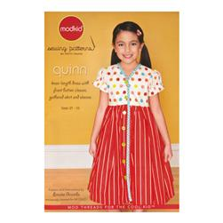 Modkid Quinn Dress Sewing Pattern