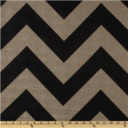 Premier Prints Zippy Stone Black/Denton Fabric