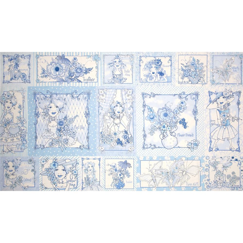 Flora Bleu Pictures  Patches Blue