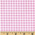 Michael Miller Tiny Houndstooth Peony