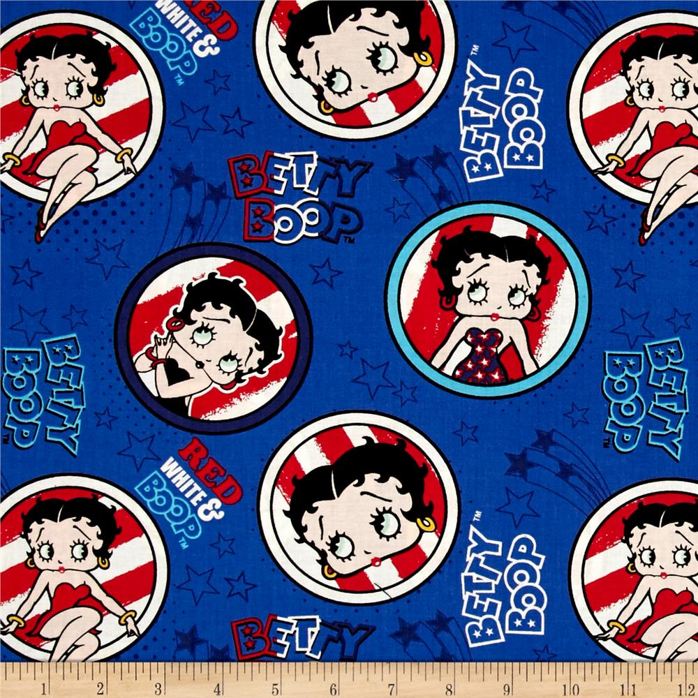 Red White & Boop Patriotic Royal