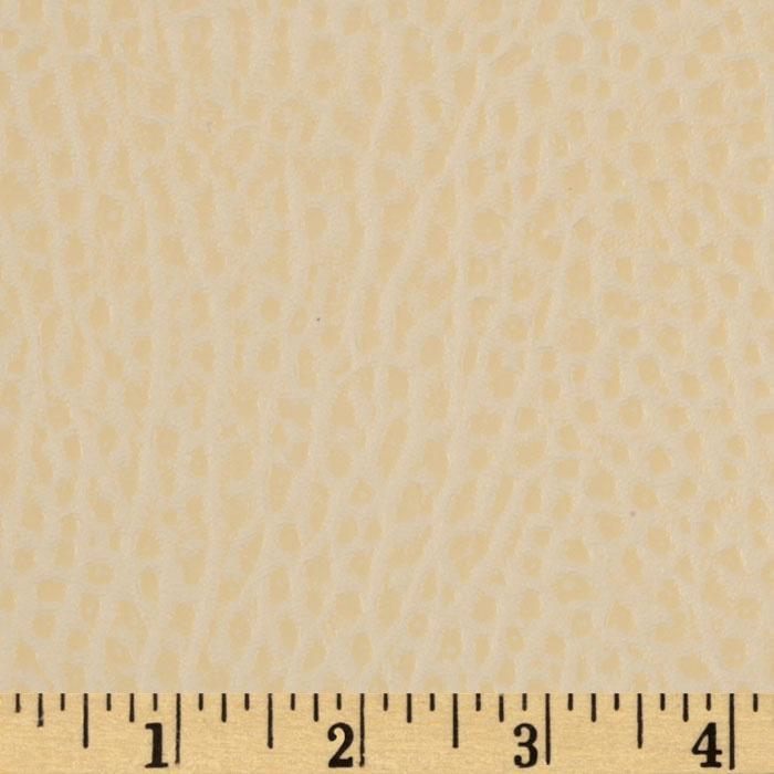 Faux Leather Fabric Boca Oyster