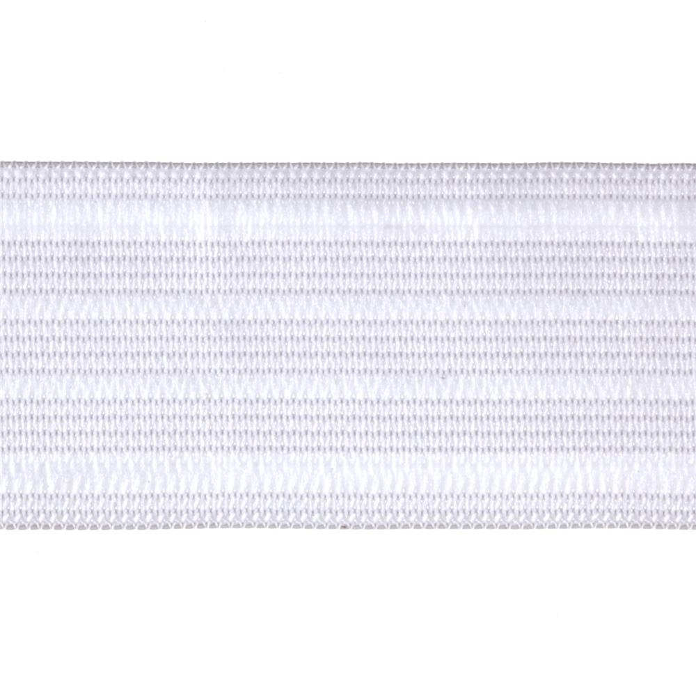 "1-1/2"" Sport Elastic White - By the Yard"
