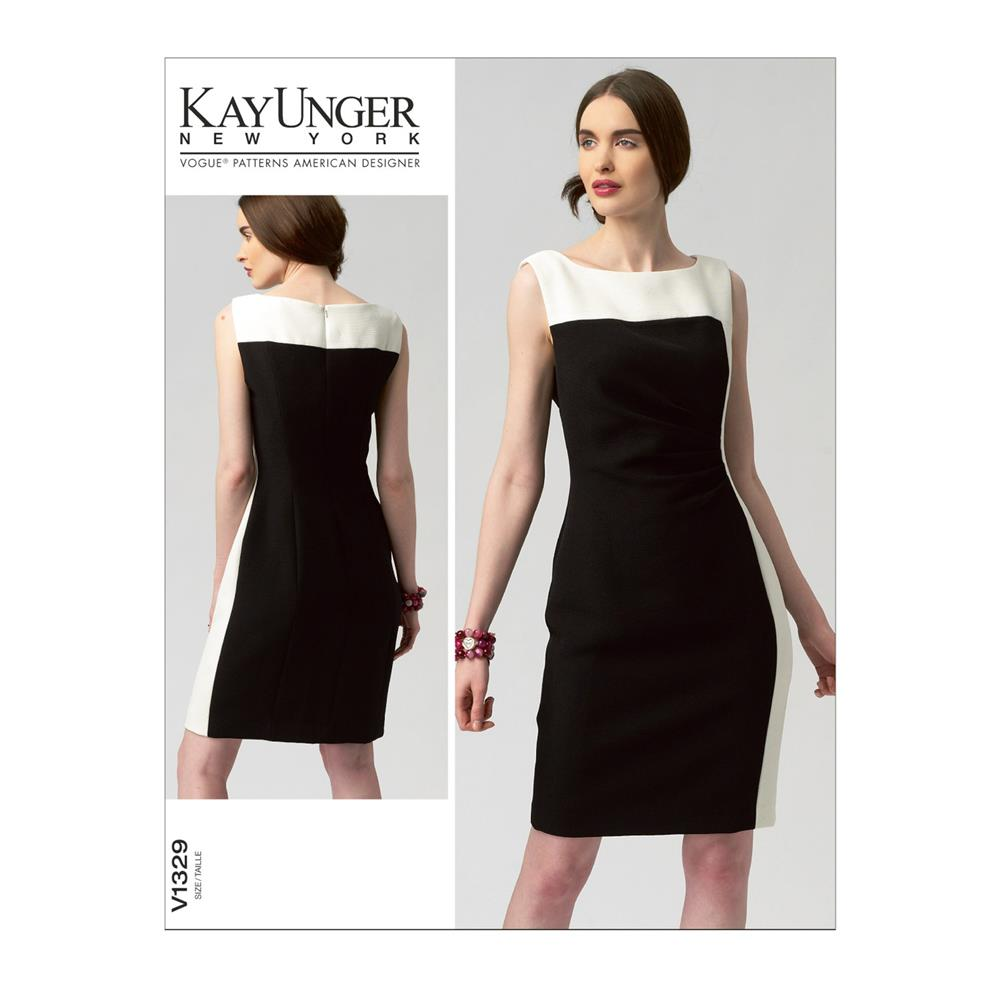 Vogue Misses' Dress Pattern V1329 Size B50