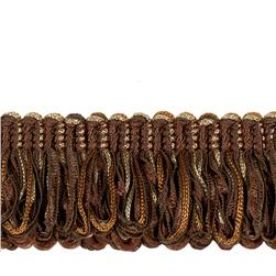 "Jaclyn Smith 1.75"" 02109 Loop Fringe Cocoa"