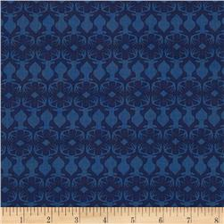 Michael Miller Rustique Embossed Navy