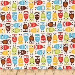 Robert Kaufman Urban Zoologie Mini Owls Bermuda
