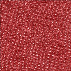 Faux Leather Ostrich Spice Fabric