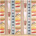 Good Eats Diner Vertical Stripe Multi