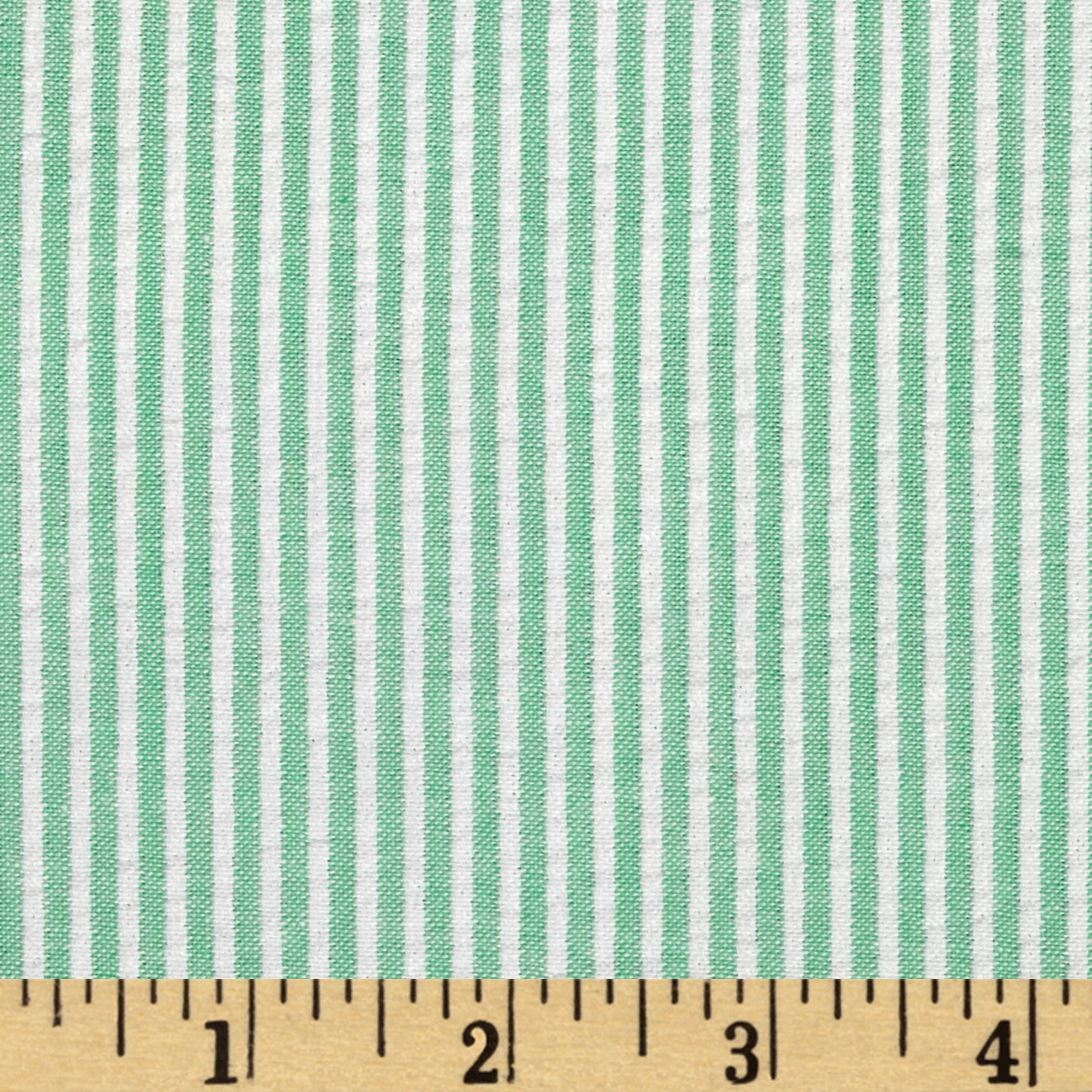 INOpets.com Anything for Pets Parents & Their Pets Regatta Seersucker Green Fabric