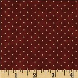 Moda Essential Dots (# 8654-29) Cranberry